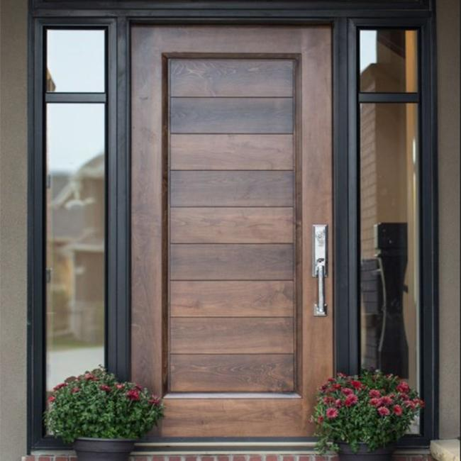 Exterior Teak Wood Single Main Door Designs , Modern ...