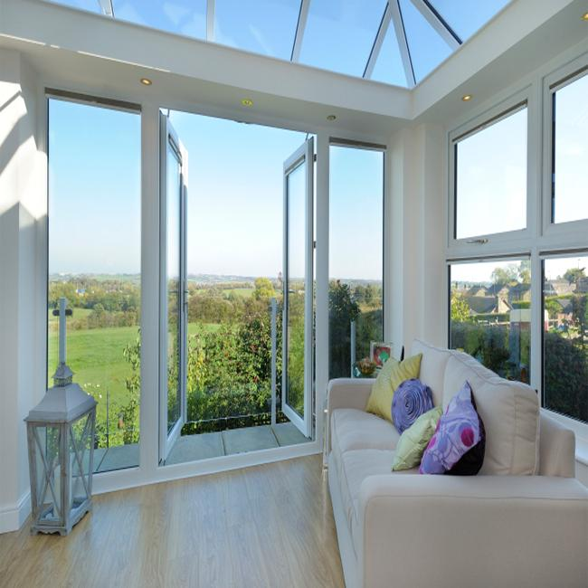 Inward / Outward Open Aluminium House Casement Windows CE AS Standard