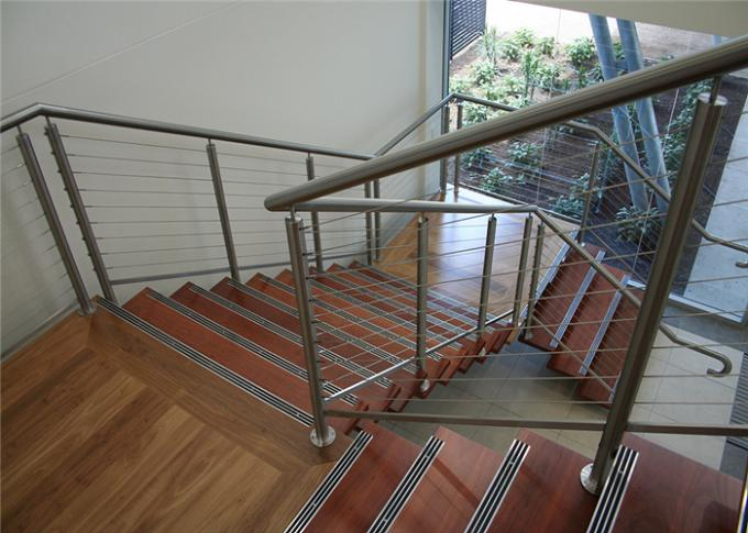 Residential Handrail Stainless Steel Cable Railing Systems For Stair And Balcony