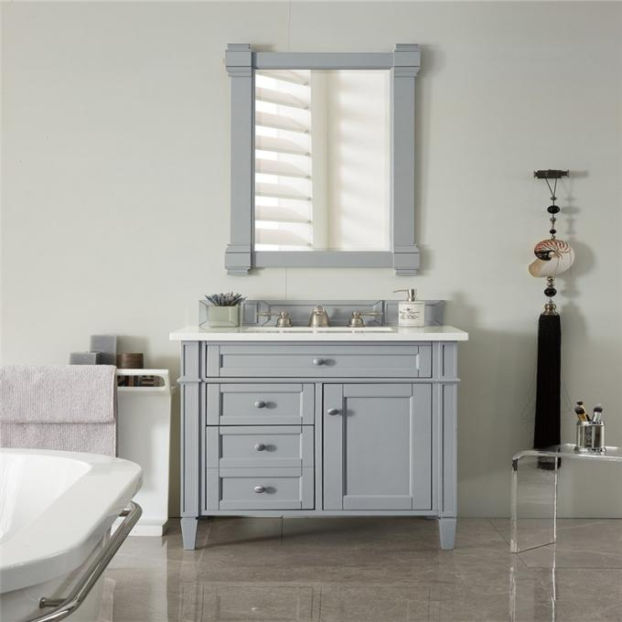 Customized Bathroom Prima Vanity Furniture Modern Design With Double Sink
