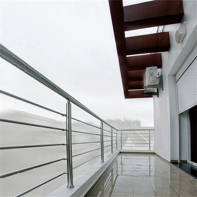Modern Balcony Stainless Steel Cable Deck Railing System ...