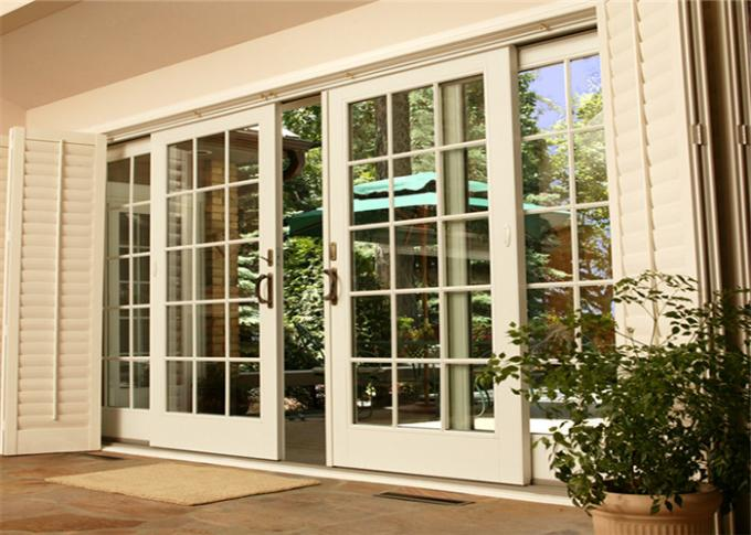 Hot Sale High Quality Aluminum Door With Glazed Glass For House Building From China Supplier