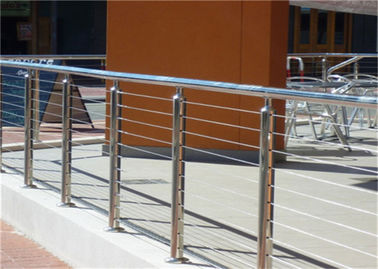 China 314 316 Stainless Steel Railing Stair Wire Balusters With Wire Fitting Accessories supplier
