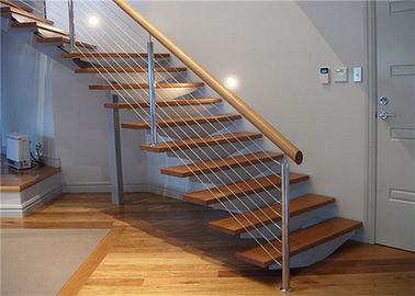 China Residential Handrail Stainless Steel Cable Railing Systems For Stair And Balcony supplier
