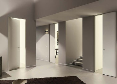 China Interior Composite Custom Wood Doors With MDF + Plywood Material Finished Surface supplier