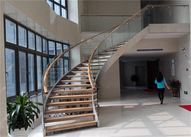 China Residential Stainless Steel Metal Spiral Staircase Indoor Usage Easy Assemblying supplier