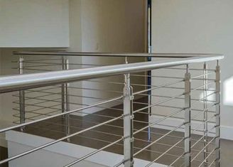 Solid Rod Bar Stainless Steel Railing Hollow Tube Round