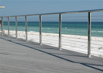 China Outdoor / Indoor Stainless Steel Cable Railing System For Railing Handrail supplier