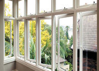 Energy Saving Double Glazed Aluminium Windows Awing Sliding AS2047 Approved