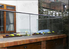 China Outdoor Decking Frameless Glass Railing DIY Installation CE Certificated factory