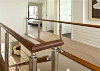 China Top selling indoor stair railings cable stair stainless steel balusters factory
