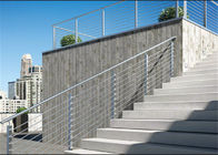China Outdoor Stainless Steel Railing Balustrade Fencing For Contractor / Builder factory