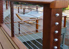 China Safety Protection Balcony Stainless Steel Cable Deck Railing Systems For House company