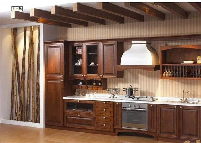 Modern High End Kitchen Cabinets MDF / Plywood / Solid Wood ...