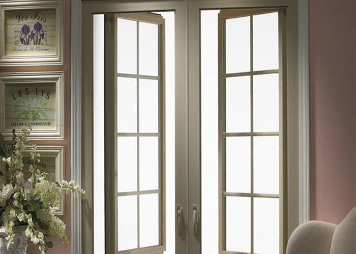 Double Glazed Aluminium Windows Grey Aluminium French Doors