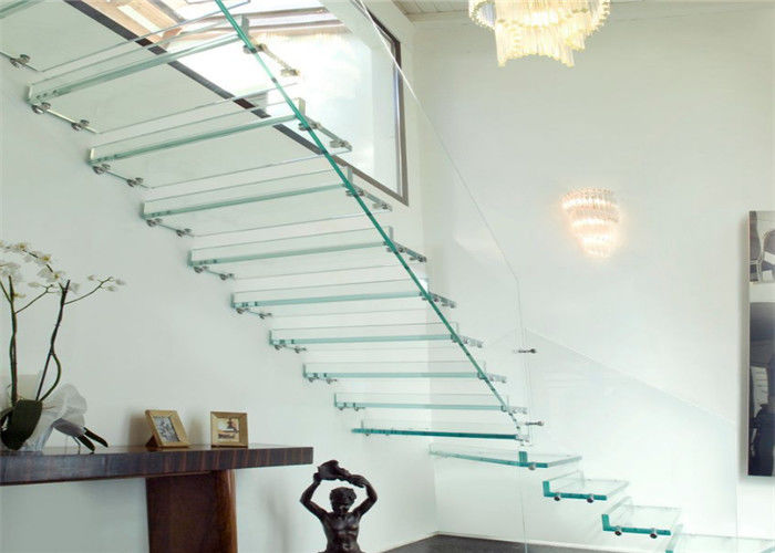 Prima Building Floating Stairs Modern Gl Staircase Achieve An Open Feel