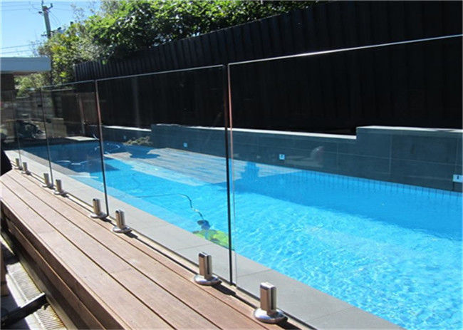 Free Design Frameless Glass Pool Fencing , Clear Swimming ...