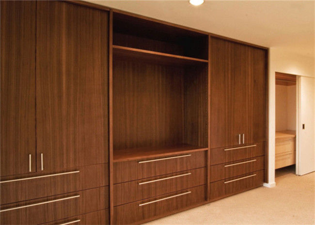 PRIMA Home Laminated Walk In Closet Wardrobe With Swing Door And Jewelry Box