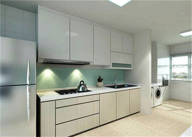 Wall Mounted Melamine Kitchen Cupboards