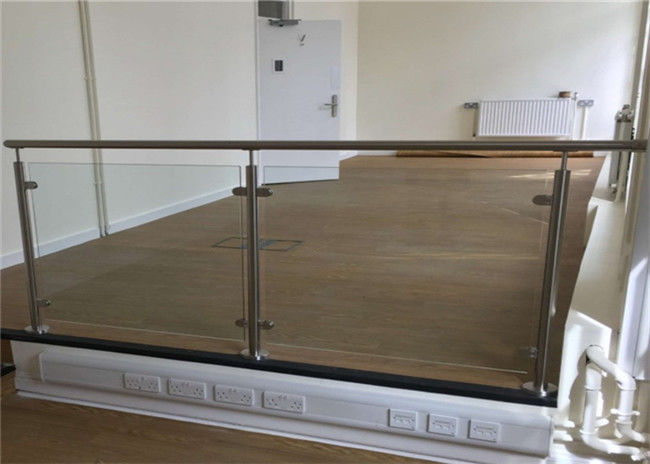 Balcony Stainless Steel Glass Balustrade Stainless Steel