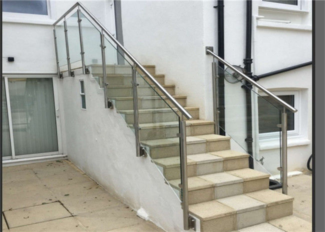 Side Mount Gl Barade Stainless Steel Handrails And Stair Railing
