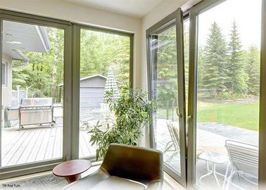 Tilt And Turn Aluminum Casement Windows
