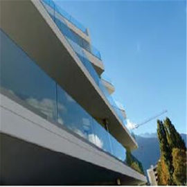China U Channel Glass Deck Railing Systems DIY Installation For Indoor / Outdoor Venues factory