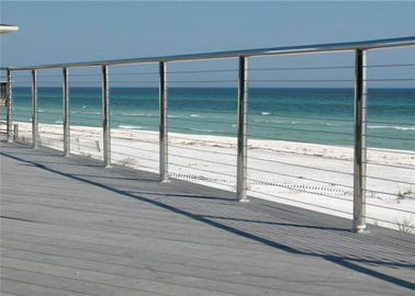 China Outdoor / Indoor Stainless Steel Cable Railing System For Railing Handrail distributor
