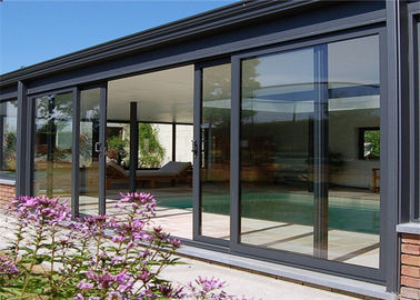 China Hot Sale High Quality Aluminum Door With Glazed Glass For House Building From China Supplier distributor