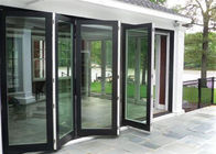 Soundproof Commercial Aluminium Doors , Interior Aluminium Sliding Patio Doors