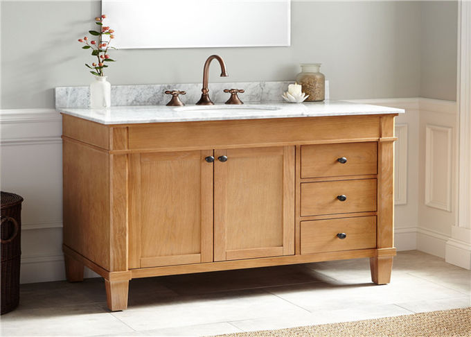 Customized Size Prima Vanity Waterproof Particle Board  Modern Style