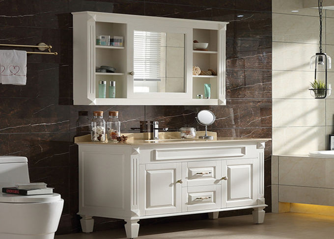 Small Prima Vanity Lacquer Bathroom Vanity Units Traditional Design